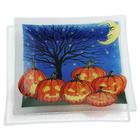 Pumpkin Patch Halloween Plate