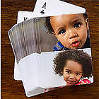 Two Photo Collage Personalized Playing Cards