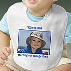 Picture Perfect Personalized Photo Baby Bib