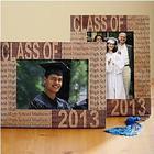 Personalized Wood Laser Engraved Graduation Frame