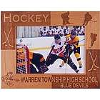 Personalized Wooden Hockey Frame