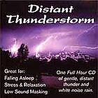 Distant Thunderstorm Sound Masking CD