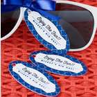 Personalized Oval Birthday Favor Gift Tags