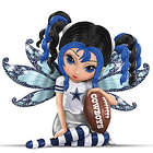 Little Bit of Magic Dallas Cowboys Fairy Figurine