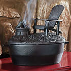 Cast Iron Wood Stove Steamer