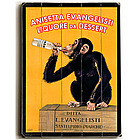 Drunk Monkey Vintage Liquor Personalized Sign