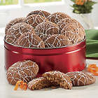 Carrot Cake Cookies Gift Tin