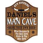Personalized Saloon Man Cave Sign