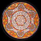 Ceramic Gaudi Style Handmade Plate