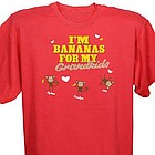 """I'm Bananas for My..."" Personalized T-Shirt"