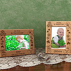 Personalized My First St. Patrick's Day Wooden Picture Frame