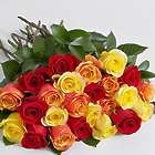 Two Dozen Autumn Roses Bouquet