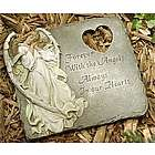 Forever with the Angels Memorial Garden Stepping Stone