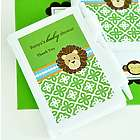 Personalized Jungle Safari Baby Shower Notebook Favors