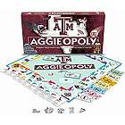 Aggie-opoly Texas A&M Monopoly Game