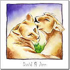 Love in the Wild Personalized Print