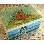 Personalized Easter Wooden Bunny Box