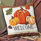 Welcome Pumpkin Pillow
