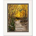Personalized Memorial Aspen Path Print