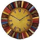 Vintage Rainbow Wall Clock