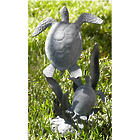 Sea Turtle Pair Garden Sculpture