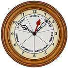 Contemporary Day Clock