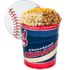 3 Gallons of Popcorn in Cleveland Indians Tin