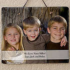 Photo Sentiments Personalized Horizontal Slate