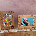 Personalized Dolphin Wooden Picture Frame