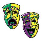 Comedy Tragedy Face Cutouts