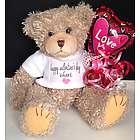 Personalized Happy Valentine's Day Teddy Bear