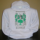 Personalized Coat of Arms Adult Hooded Sweatshirt