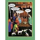 Jesus-Bo-Besus Humor Greeting Card