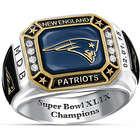 New England Patriots Super Bowl XLIX Champions Pride Ring