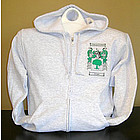 Personalized Coat of Arms Adult Full-Zip Hooded Sweatshirt