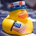 Patriotic Rubber Duck