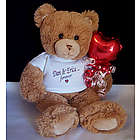 Personalized Forever Love Valentine Teddy Bear