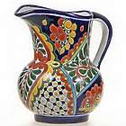 Mexican Talavera Water Pitcher