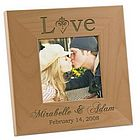 Personalized Wood Love Frame