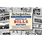 Buffalo Bills History Newspaper