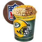 Popcorn in Green Bay Packers 3 Gallon Gift Tin