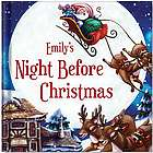 Night Before Christmas Personalized Children's Book