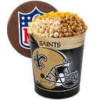 Popcorn in New Orleans Saints 3 Gallon Gift Tin