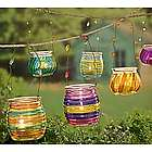 Glowing Garden Hanging Tea Light Holders