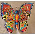 Talavera Style Butterfly Wall Art