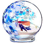 Sea Glass Globe Paperweight