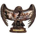 Luminous Majesty Illuminated Eagle Sculpture
