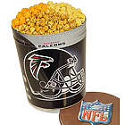Atlanta Falcons 3 Way Popcorn Tin