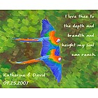 Birds of a Feather II Personalized Print
