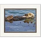Friendship Poem Personalized Sea Otter Print
